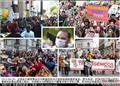 世界各国抗议转基因毒粮祸害人类!