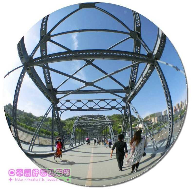 铁桥上的的风景...