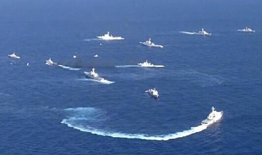 中日钓鱼岛海域冲突