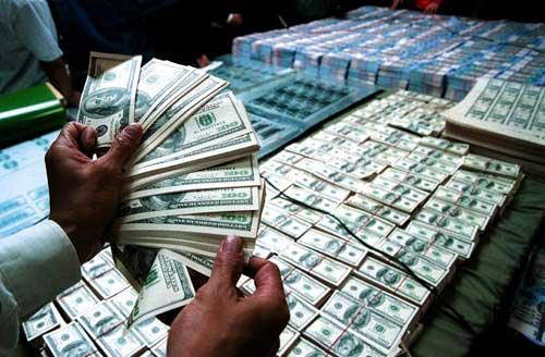 中国大量购买美国国债
