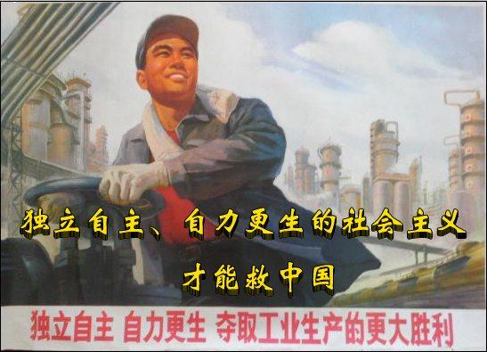 社会主义救中国