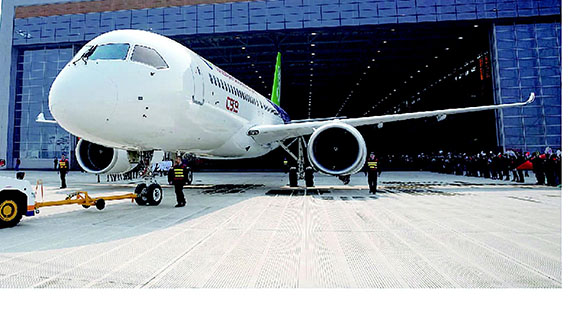 中国大飞机c919-2