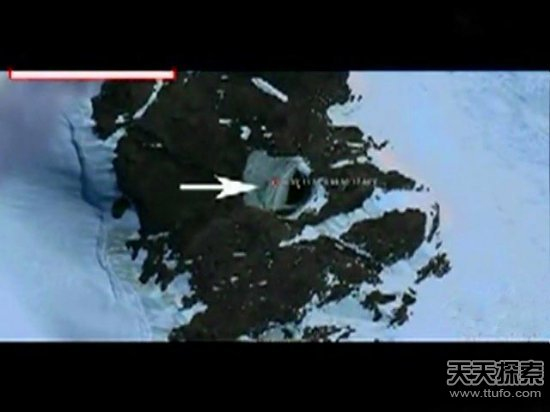 卫星拍摄到南极洲腹地超现代化城市-1