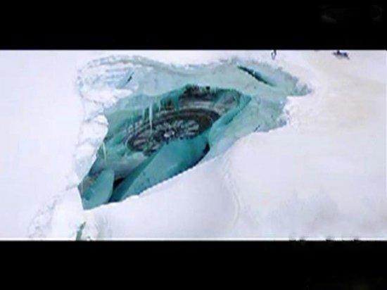 卫星拍摄到南极洲腹地超现代化城市-2