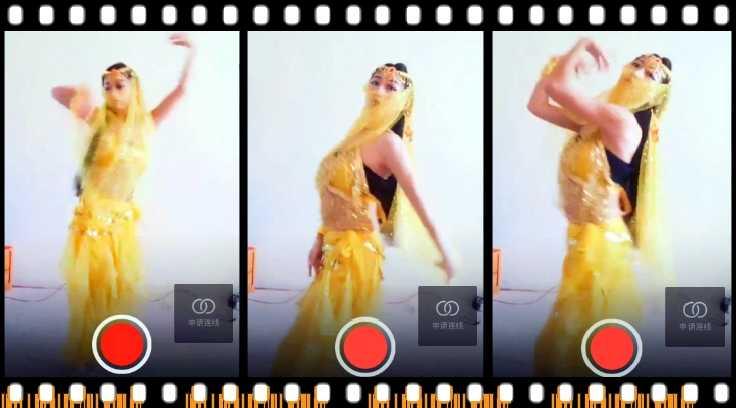 女主播的面纱印度舞-截图