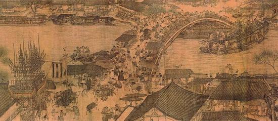 北宋张择端,清明上河图,北京故宫博物院收