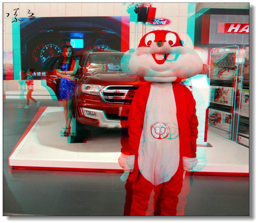 【原创】车展上的卡通兔-2