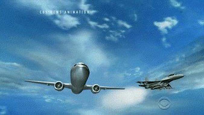 """中国海军歼-11H战机围绕P-8作""""桶滚"""