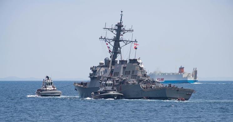 1、美军的宙斯盾舰