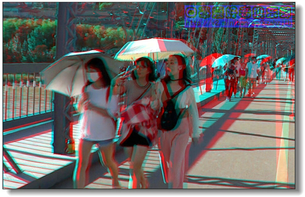 《阳伞、白衣、白口罩》-2