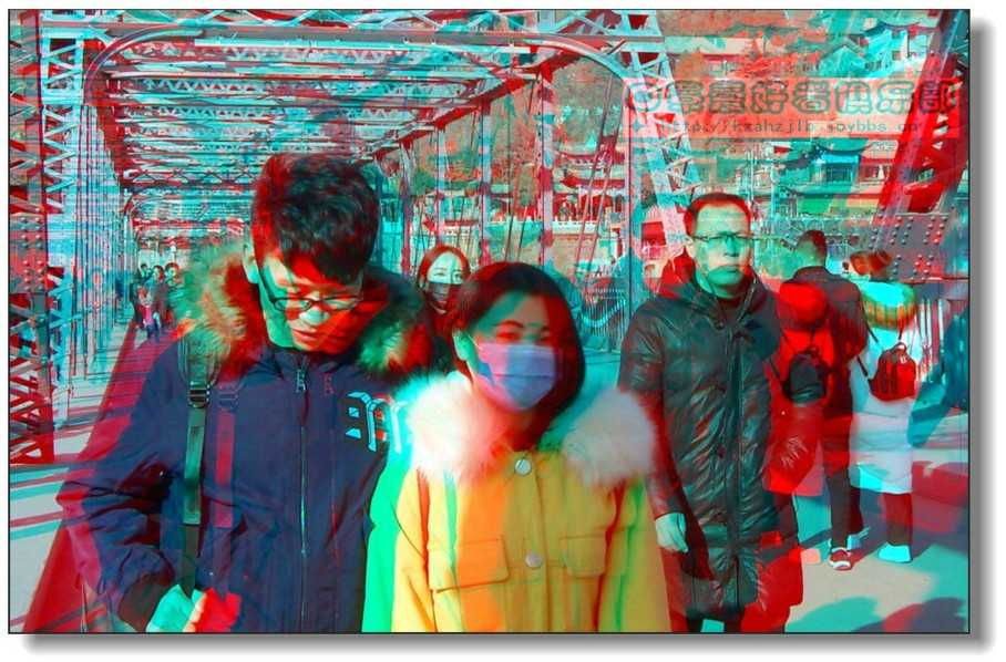 【原创】铁桥上的抓拍 - 2