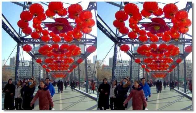 【原创】迎接新春的黄河桥 -1