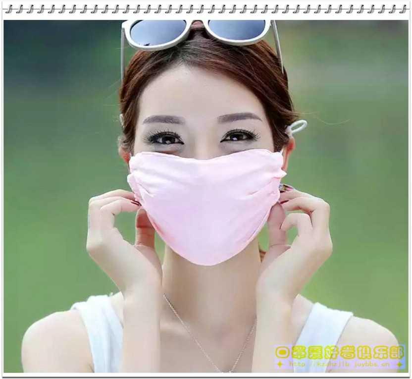 广告模特-真丝口罩 - 3