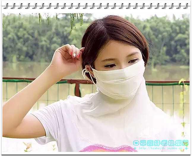 真丝口罩yu美女 -1