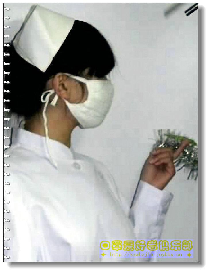 【网图】口罩模特-护士  1