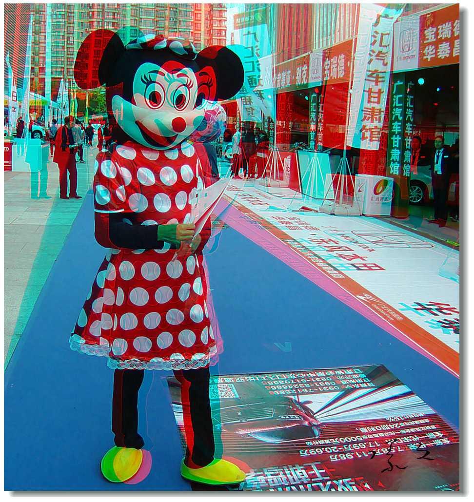 【原创】米老鼠妈妈 -1