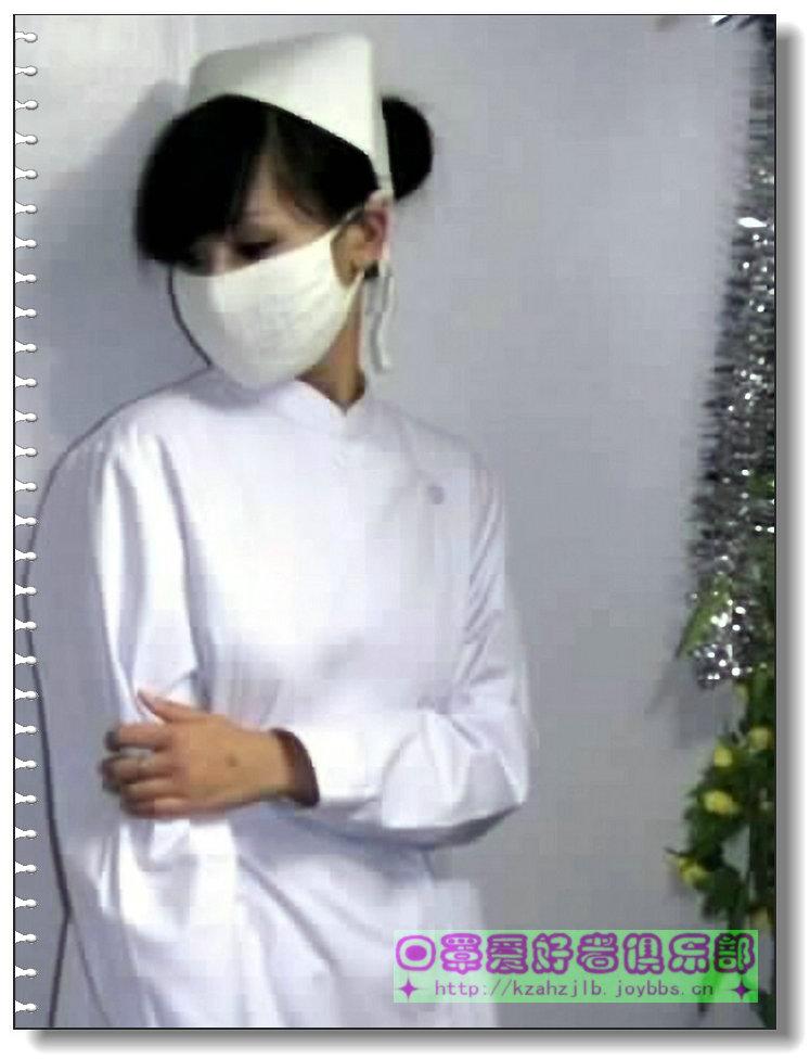 【网图】口罩模特-护士  7