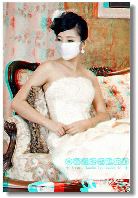 【原创】长椅上的婚纱美女 -1