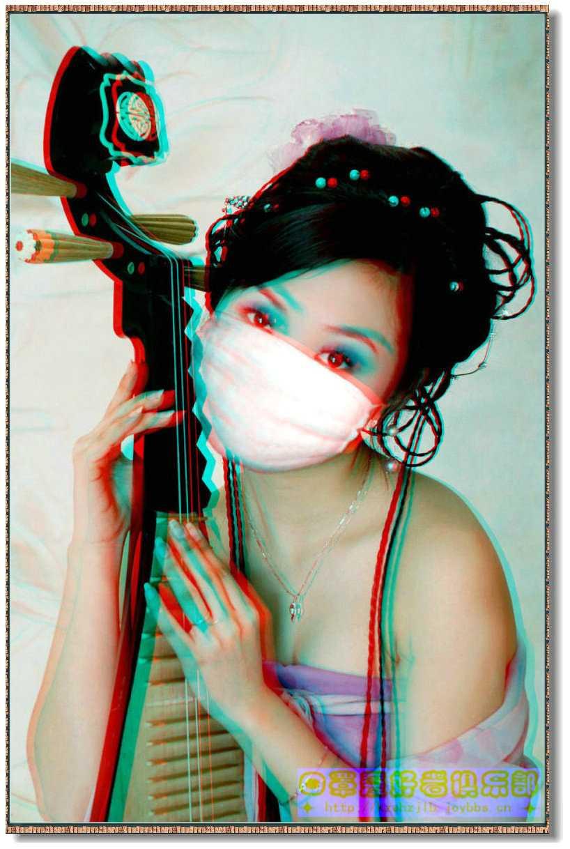 【原创】弹琵琶的淑女