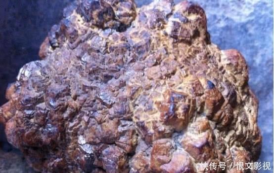 3、含有盐晶的陨石