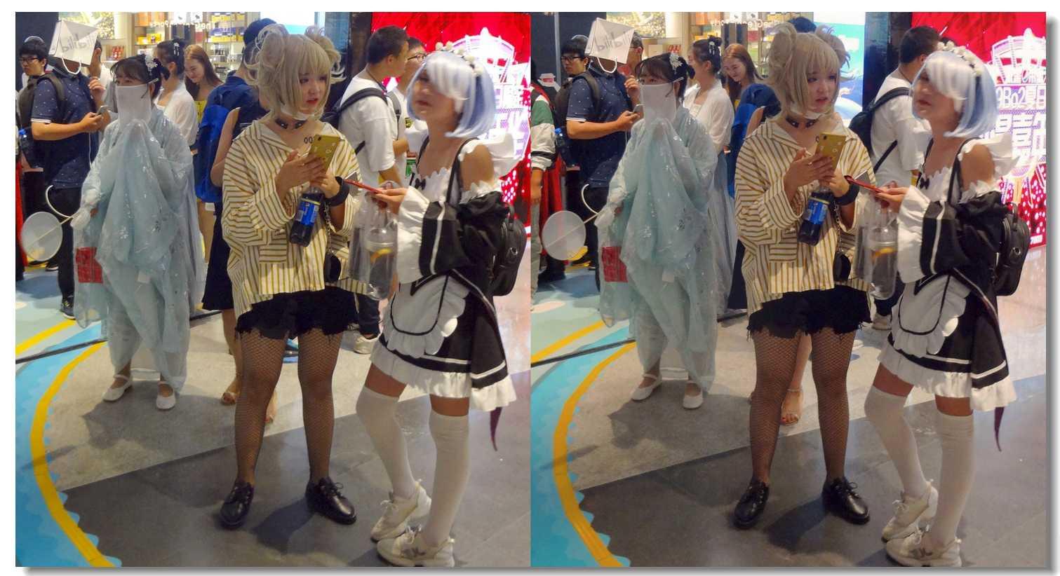 【原创】小美女和蒙面女 -1