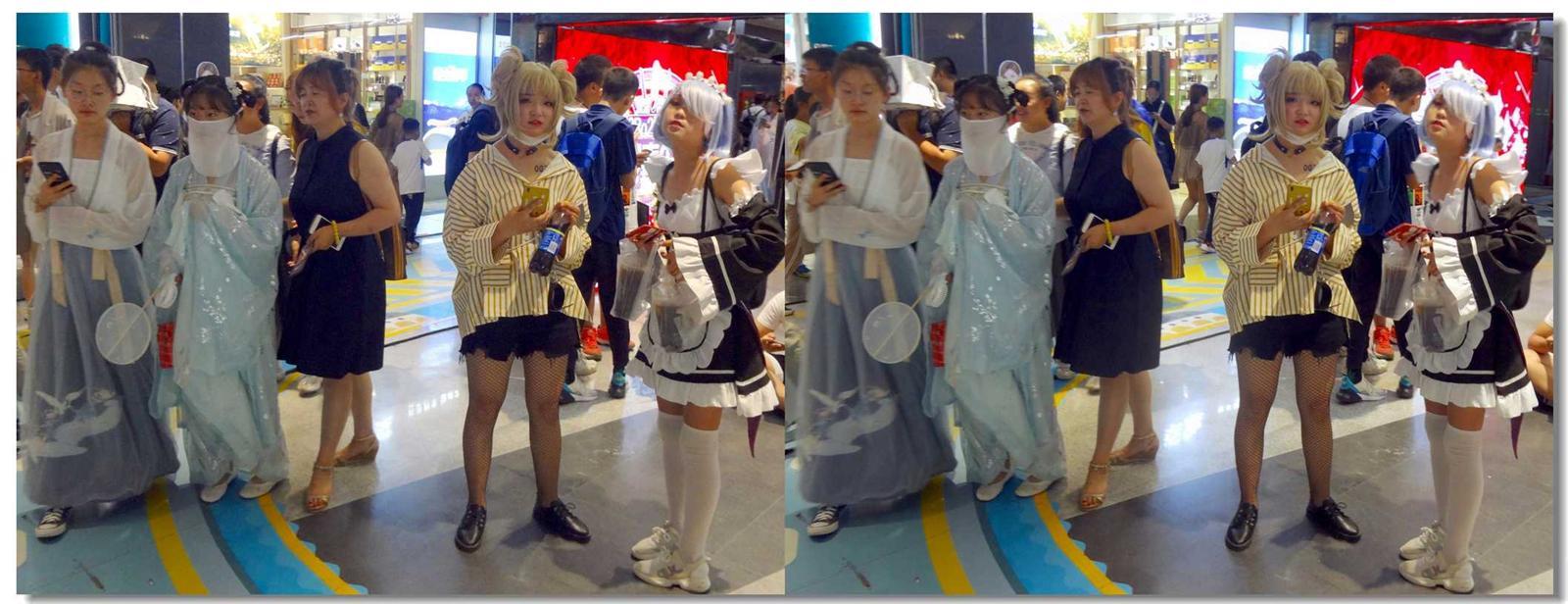 【原创】小美女和蒙面女 -2