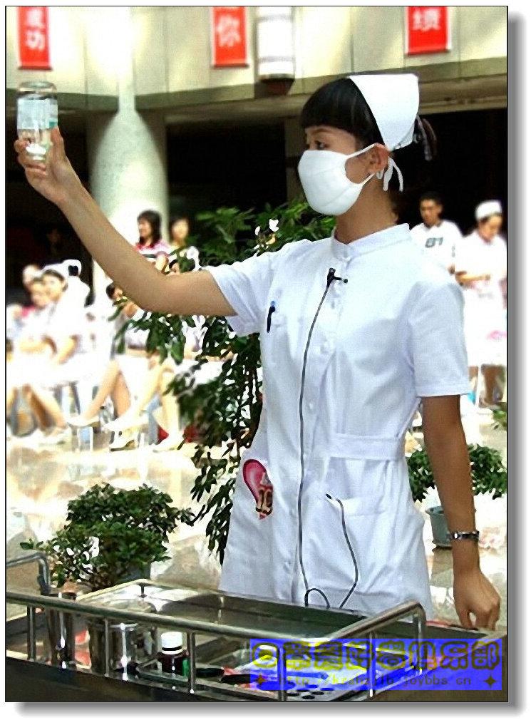【原创】护理技能比赛之美护士