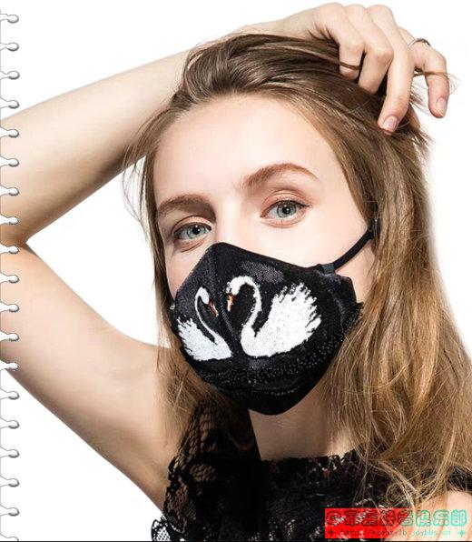 【贴图】艺术刺绣口罩 -8