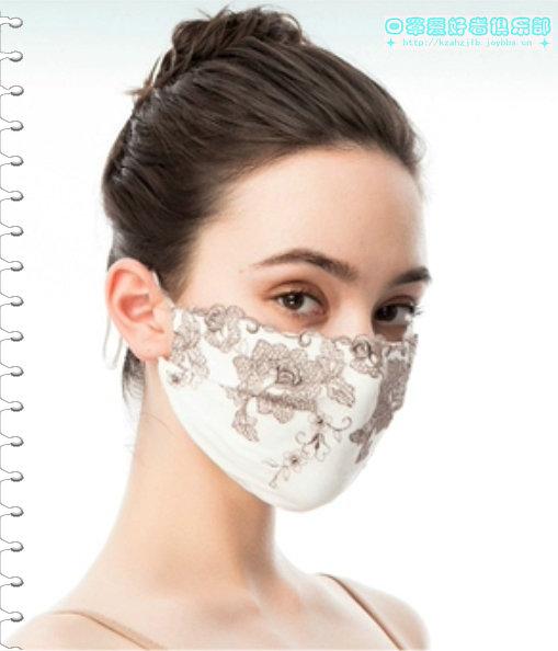 【贴图】艺术刺绣口罩 -1