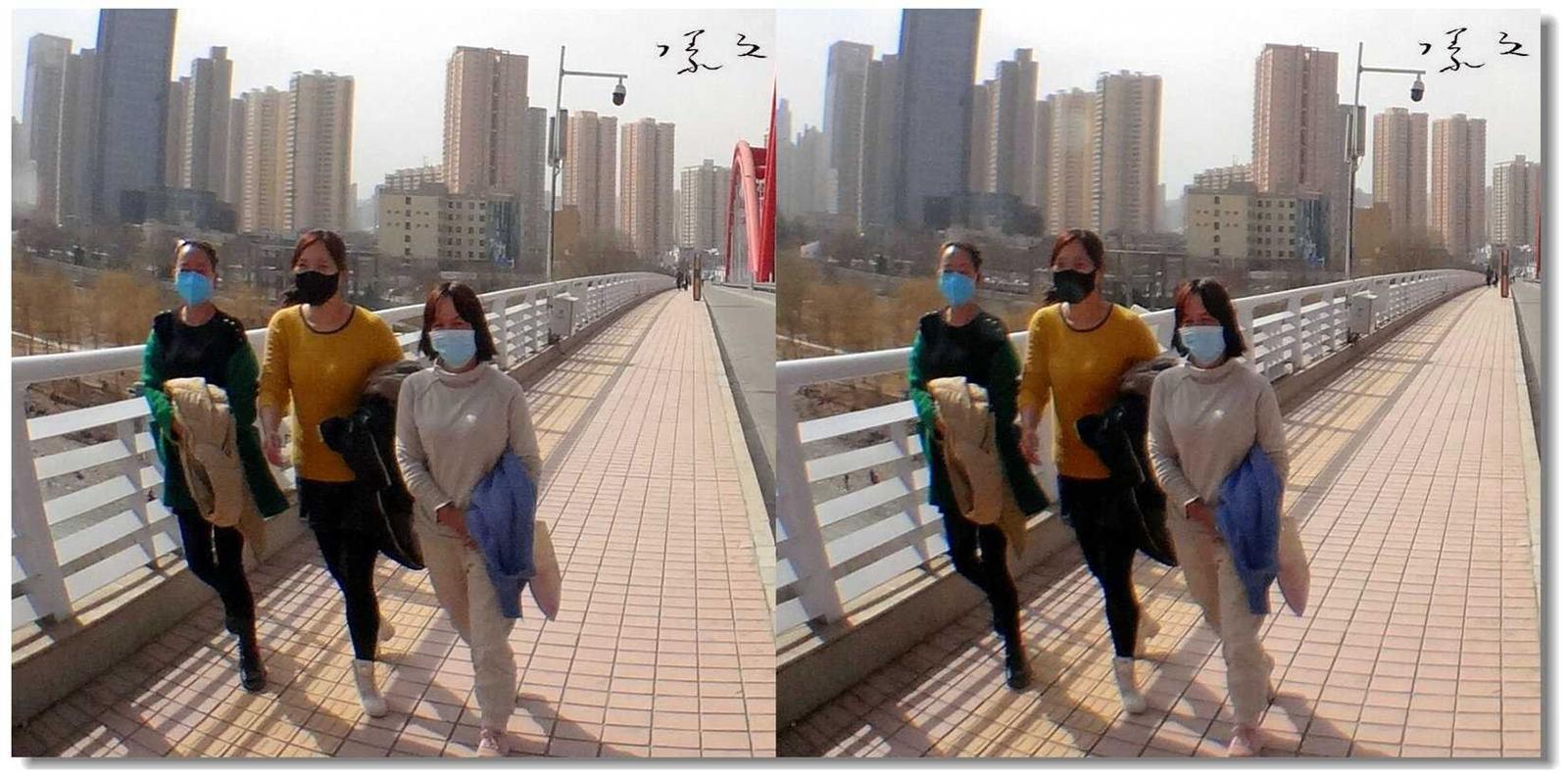 .【原创】街拍-戴口罩的人们 -5