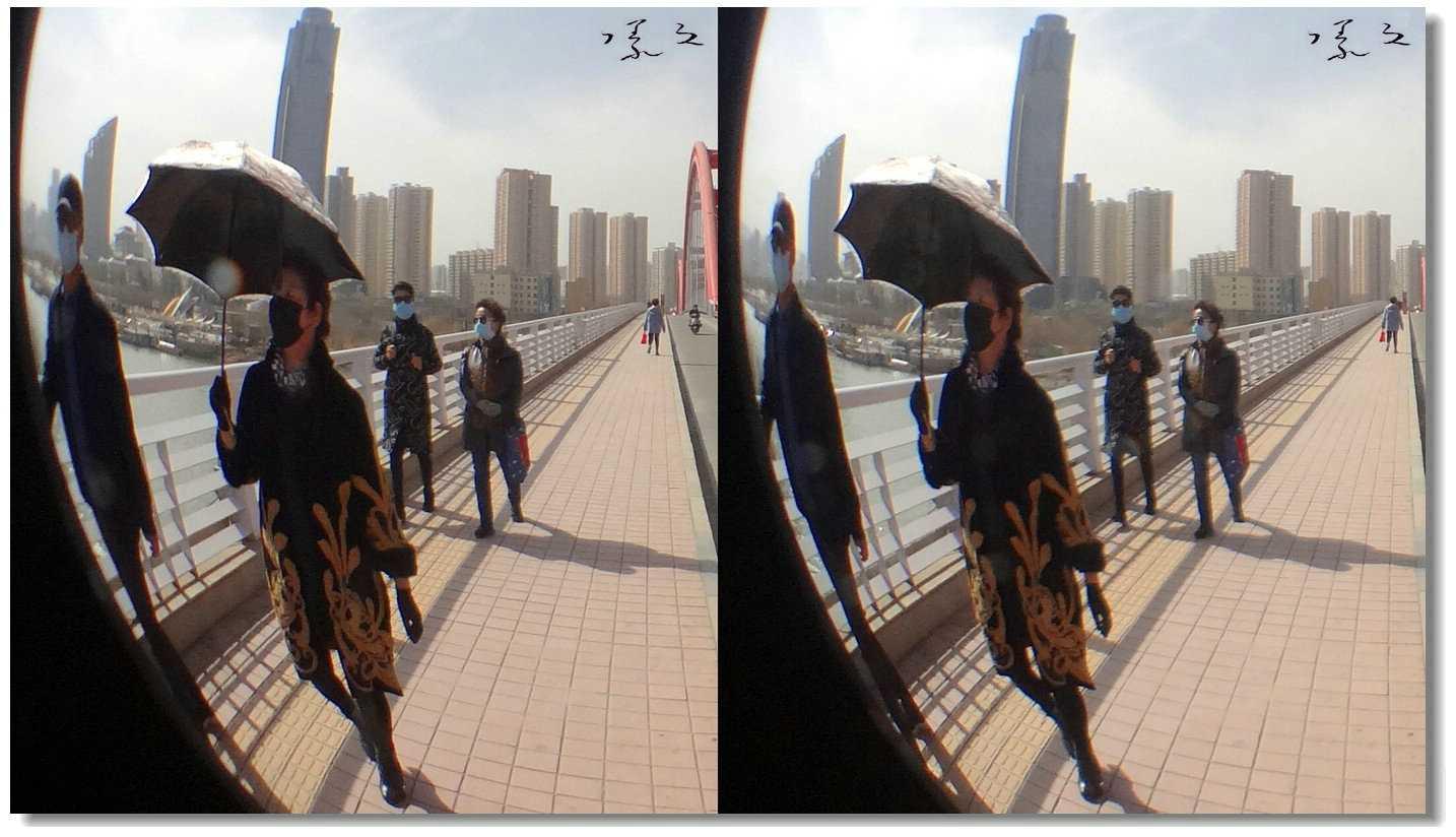 .【原创】街拍-戴口罩的人们 -4