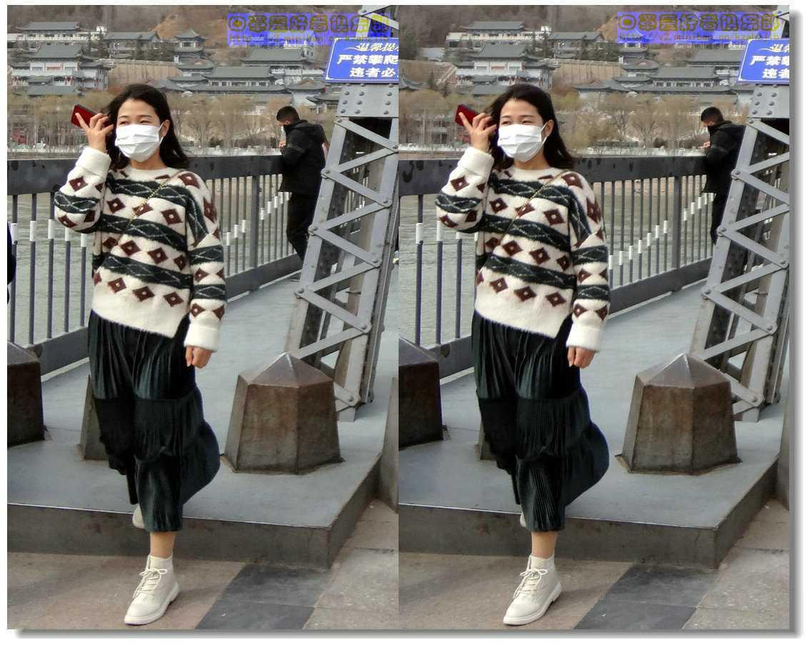 【原创】街拍-戴口罩的人们(续)-8