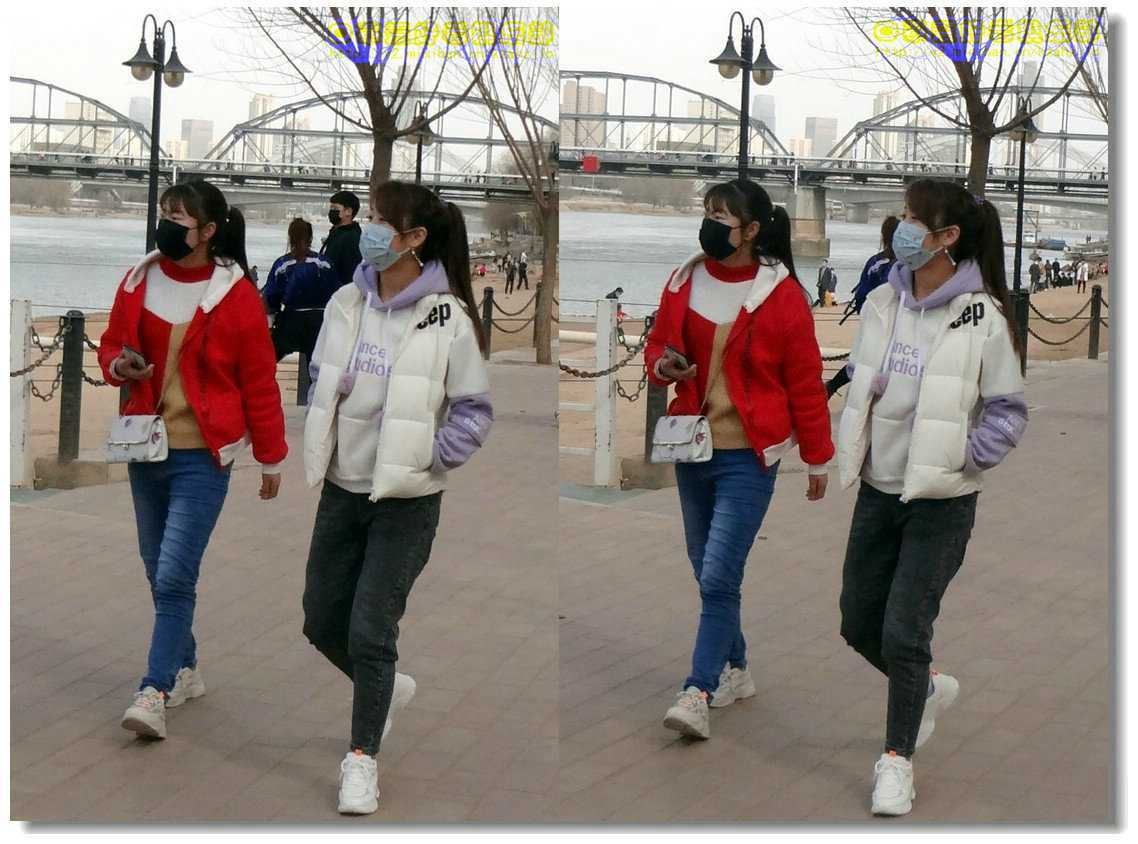 【原创】街拍-戴口罩的人们(续)-6