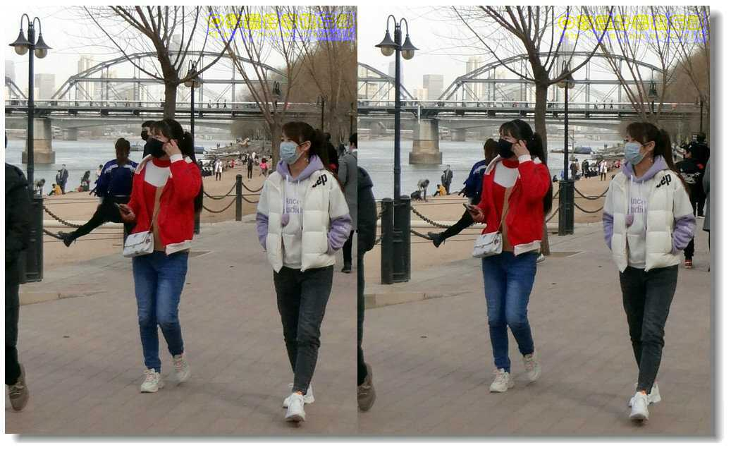 【原创】街拍-戴口罩的人们(续)-5