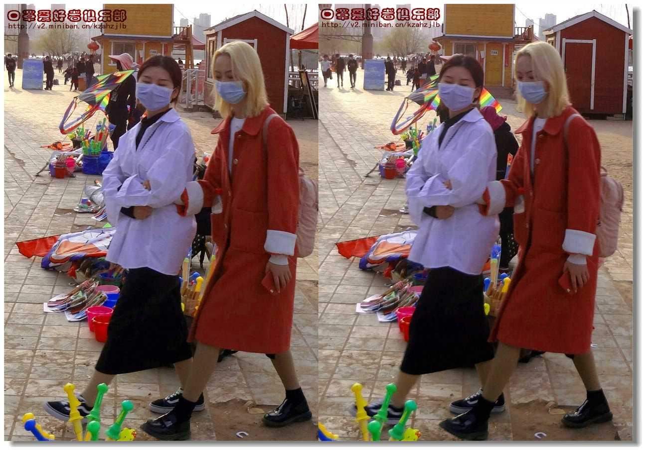 【原创】街拍-戴口罩的人们(续)图4