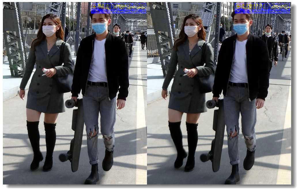 【原创】街拍-戴口罩的人们(续)- 3