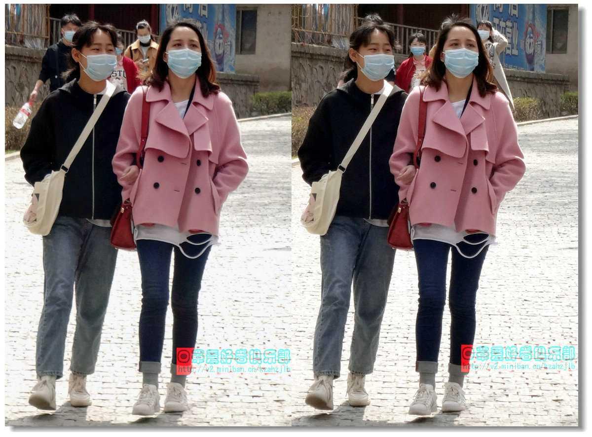 【原创】街拍-戴口罩的人们(续)-1