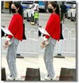 【原创】 街拍-红衣少女 -2