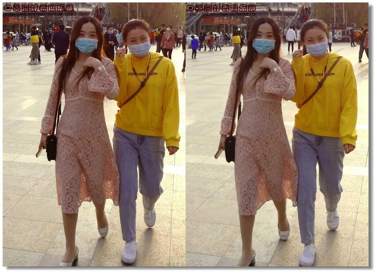 【原创】街拍-戴口罩的人们(续)图3
