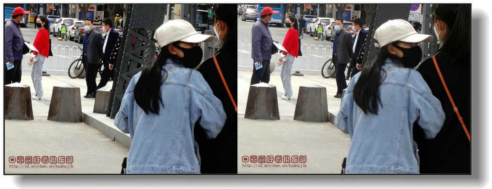 【原创】 街拍-红衣少女 -1