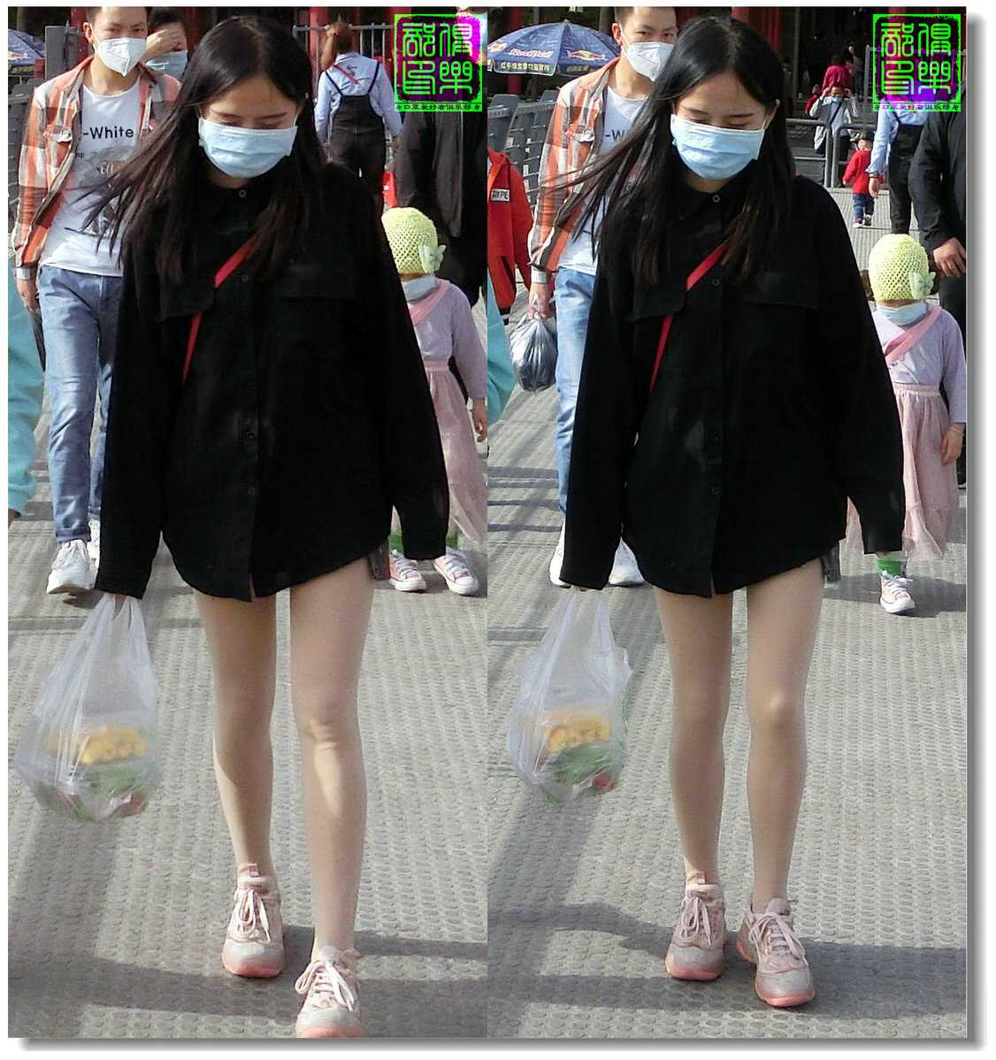 【原创】街拍-戴口罩的人们(续)2