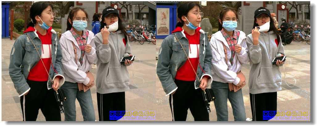 【原创】街拍-戴口罩的人们(续) -2