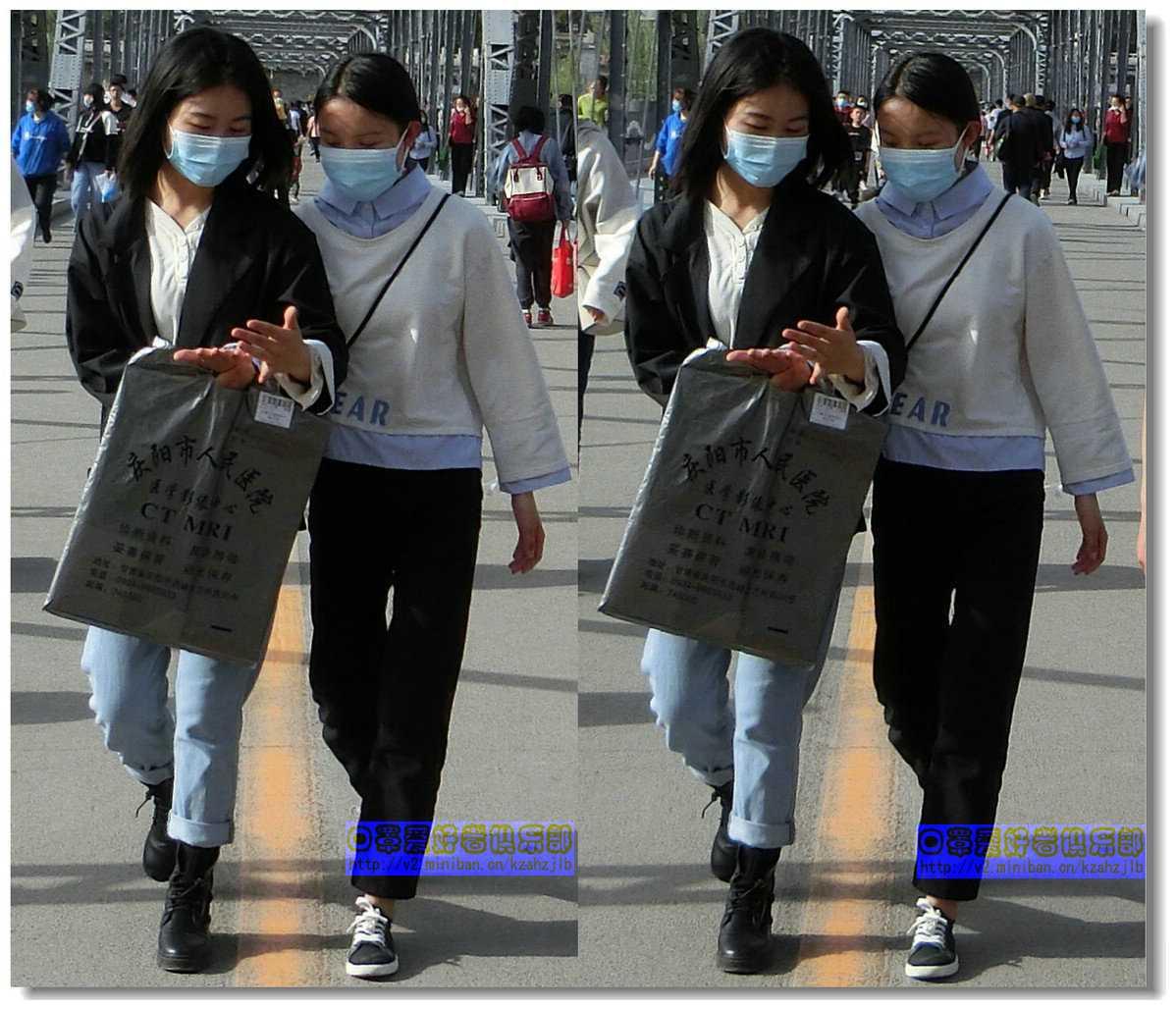 【原创】街拍-戴口罩的人们(续)-2