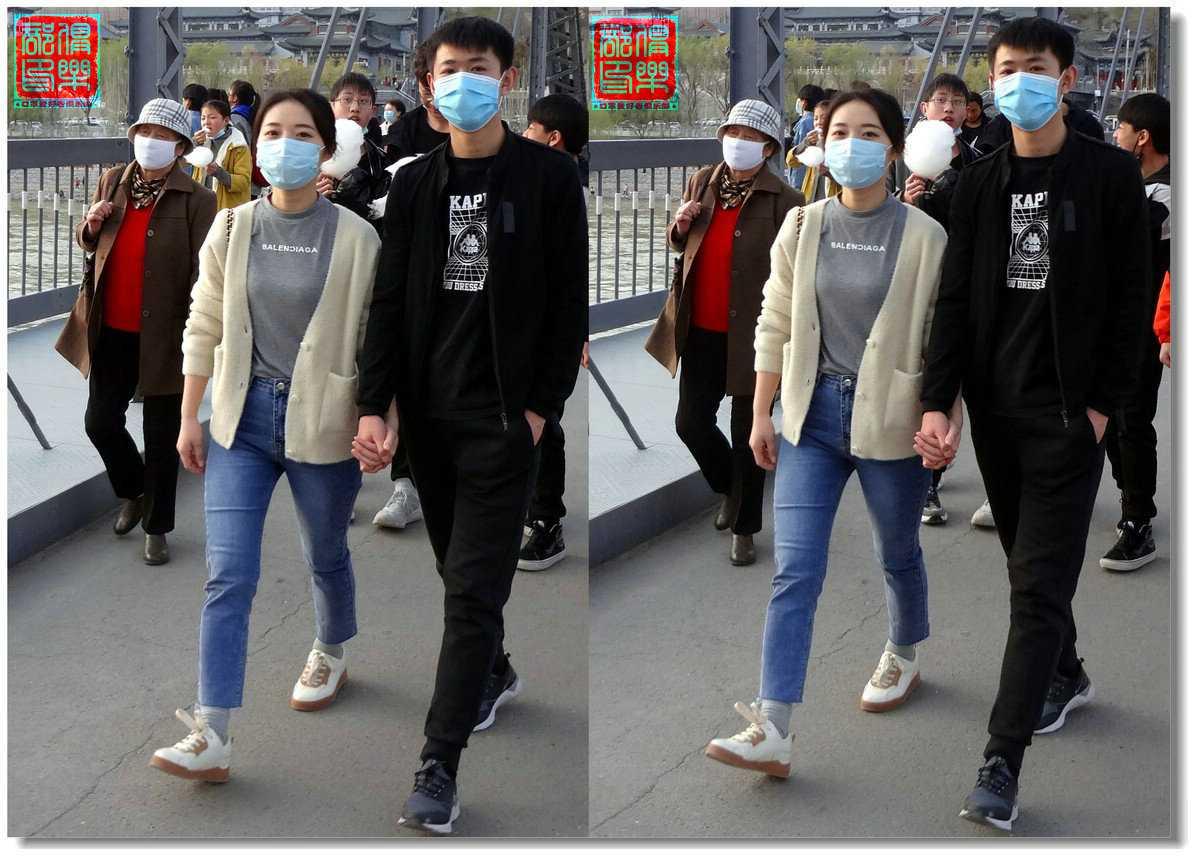【原创】街拍-戴口罩的人们 -4