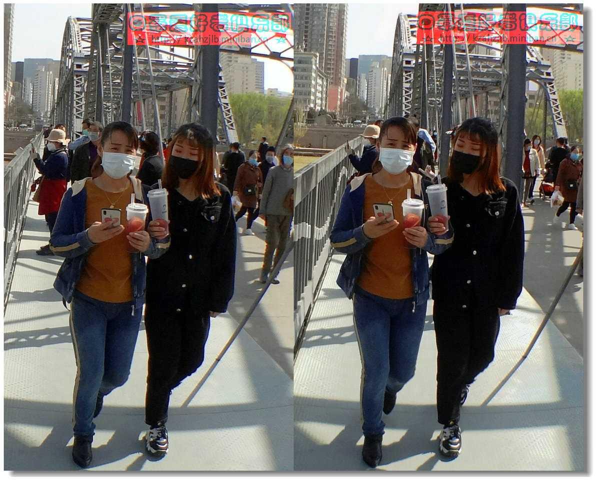 【原创】街拍-戴口罩的人们 -3
