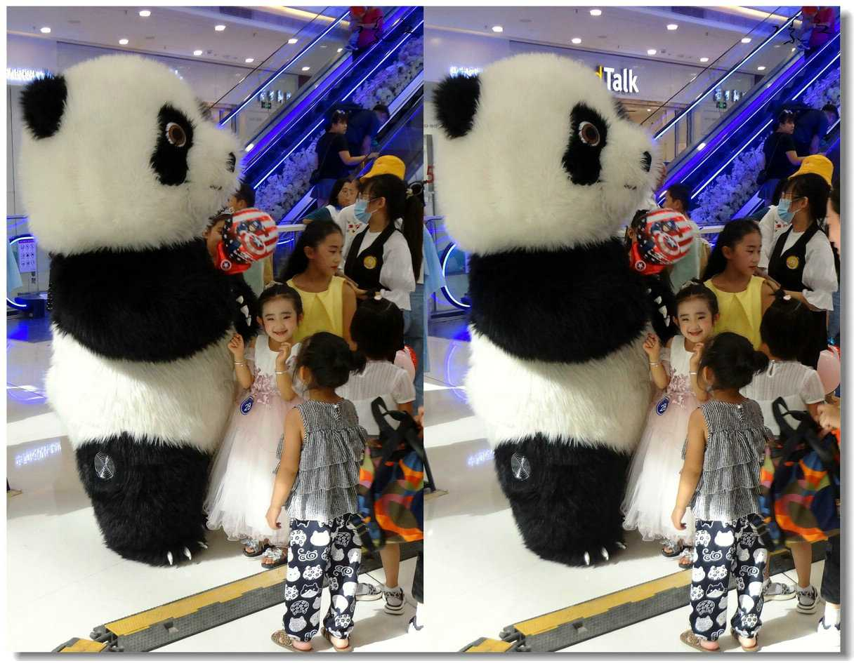 【原创】大熊猫与小天使 -1