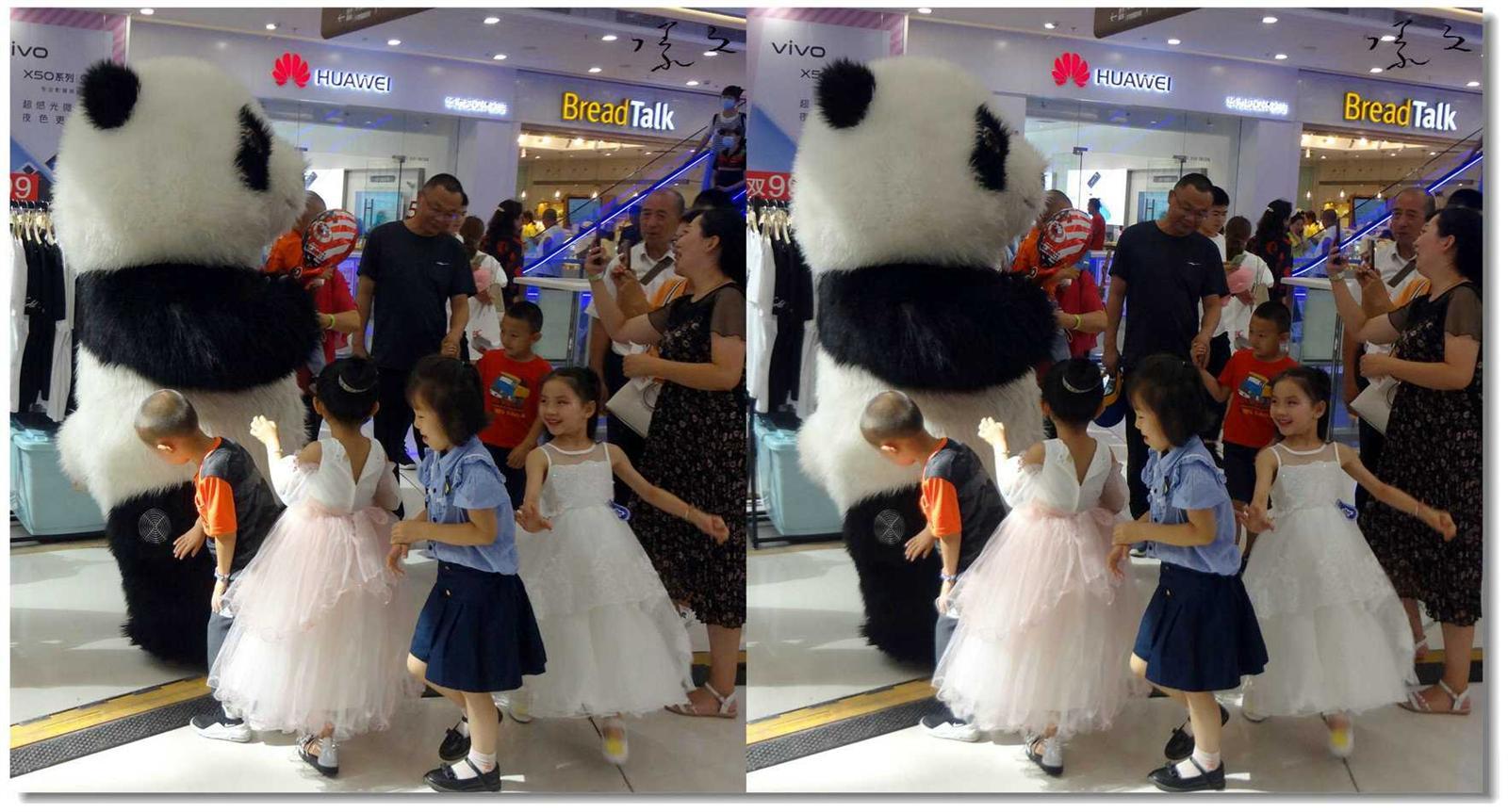 【原创】大熊猫与小天使 -4