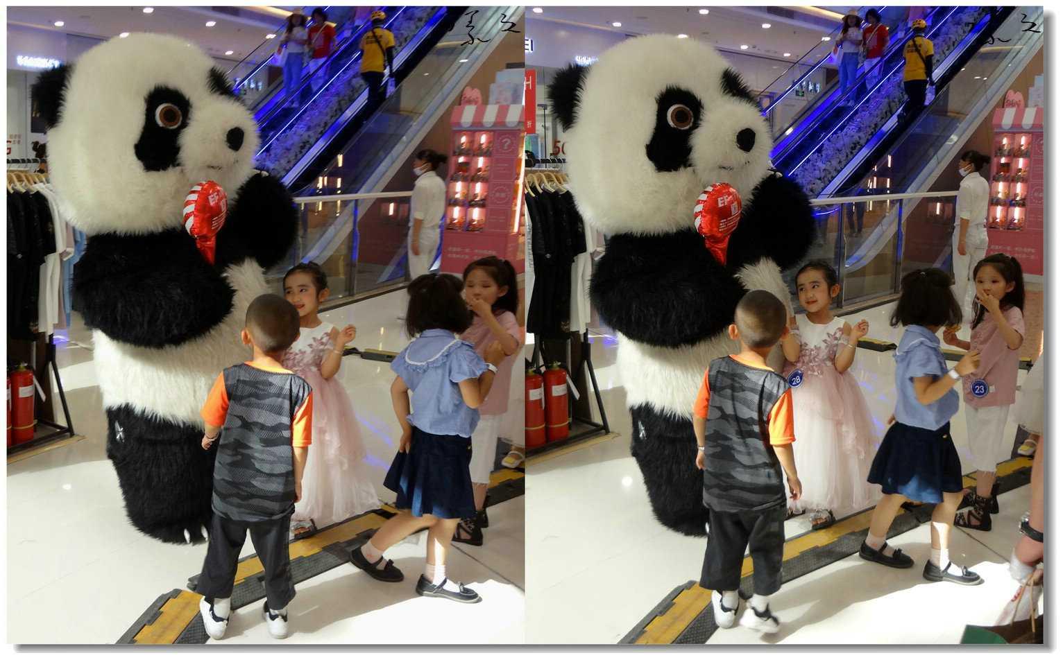 【原创】大熊猫与小天使 -2