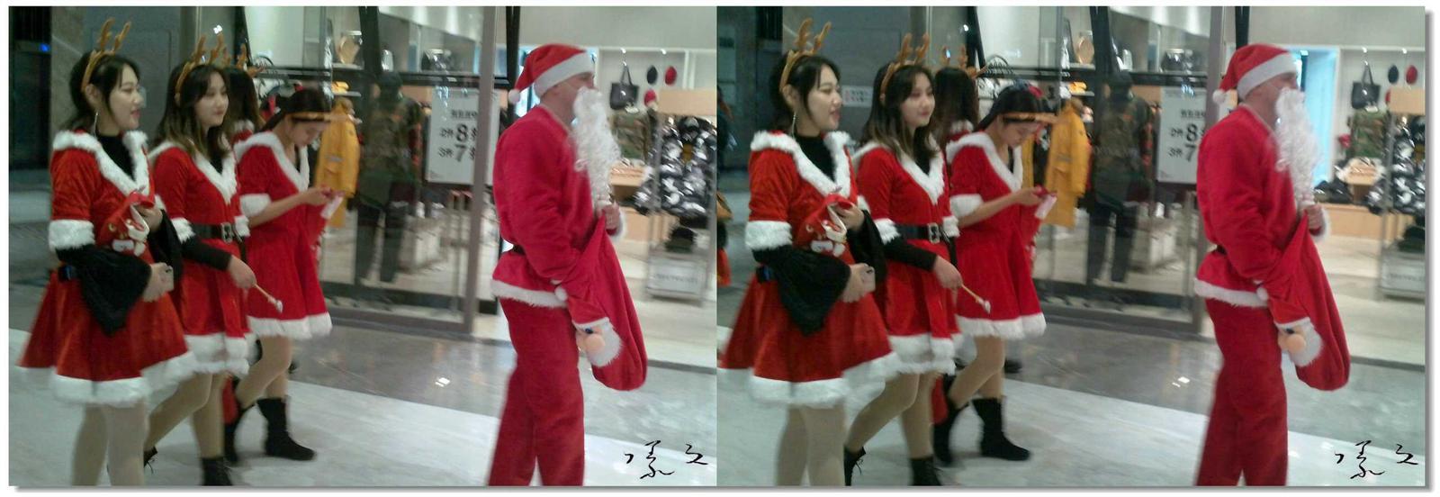 【原创】圣诞老人派送礼物 -1