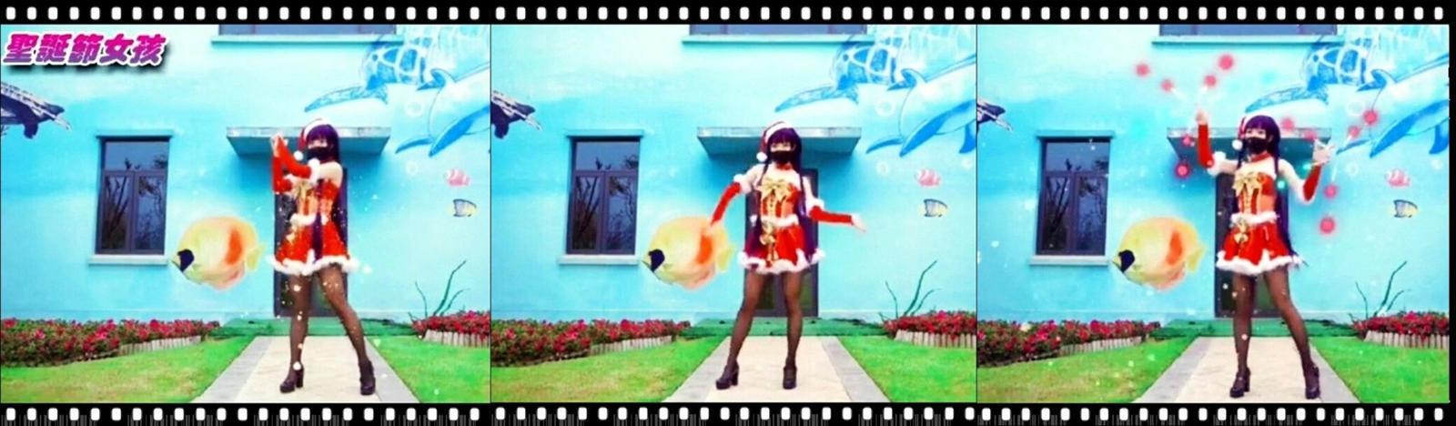 圣诞节女孩 -视频截图
